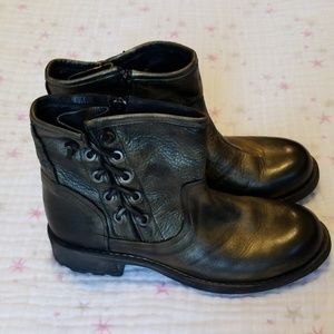 Eric Michael Brennero Moto boots